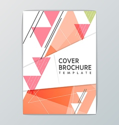 A4 size Abstract Background design Template vector image