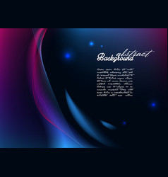 abstract background with modern glowing lines vector image vector image