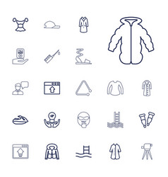 22 drawn icons vector