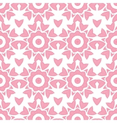 Abstract pink repeat geometrical seamless pattern vector