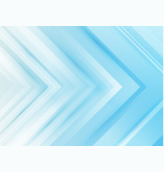 abstract technology corporate arrows blue vector image