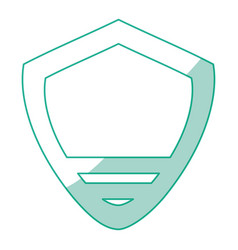 Badge insignia isolated vector