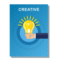 business poster creative vector image