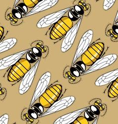Cartoon sting pattern background vector