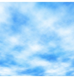 Cotton clouds vector