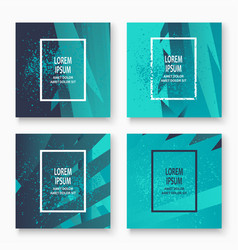 creative cover frame design paint explosion vector image