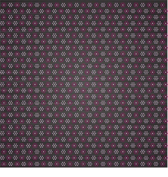 Flower polka dots vector