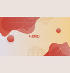 Fluid style dynamic wallpaper with lovely colors vector