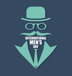 International men day or father day image vector