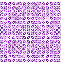 Purple repeating kaleidoscope pattern background vector
