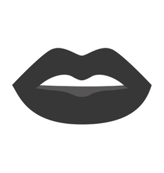 sexy female lips isolated icon vector image