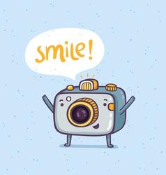 Smile photo vector