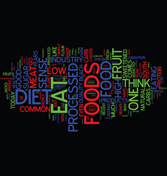 Good food bad food what s left to eat text vector