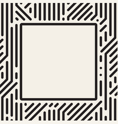 dots square frame vector image vector image