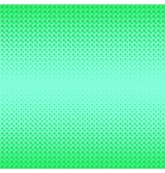 Green Halftone Pattern vector image