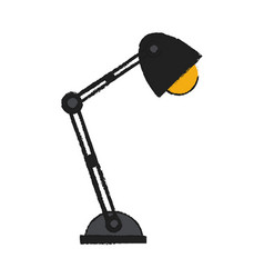 office light lamp vector image