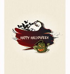 halloween background vector image vector image