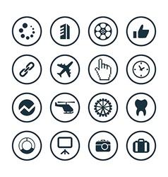B2B icons universal set vector