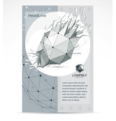 computer technologies creative advertisement vector image