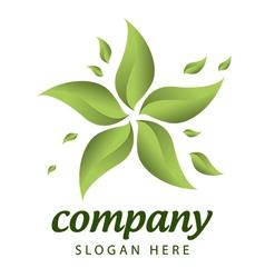 Forest management logo vector
