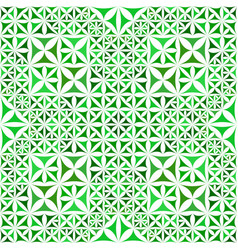 Green repeating kaleidoscope pattern background vector