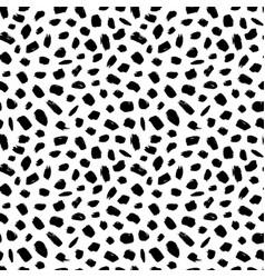 Grunge spots hand drawn seamless pattern vector