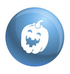 Halloween pumkin icon simple style vector