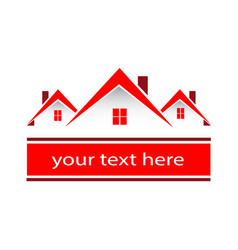 House home environment friendly logo vector