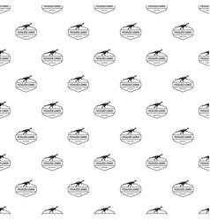 jurassic lizard pattern seamless vector image