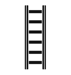 Repair ladder icon simple style vector