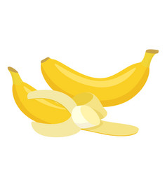bananas cartoon vector image