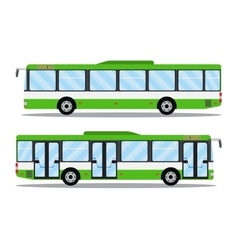 city transit shorter distance bus vector image vector image