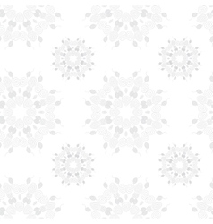 seamless pattern ornament with round vector image