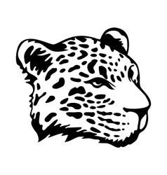 Tribal jaguar vector image