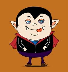 Dracula cartoon vector image vector image