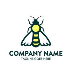 Bee logo-19 vector