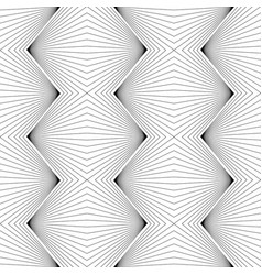 abstract geometric elegant wavy lines pattern vector image