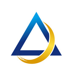 aero flash symbol logo design vector image