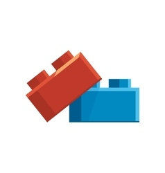 Constructor accessory vector image