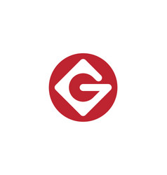 g letter icon vector image
