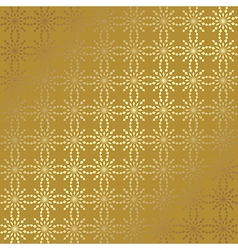 Gold geometric background with gradient vector
