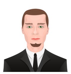 Guy in suit vector