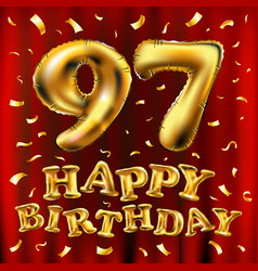 97th Happy Birthday Vector Images 61