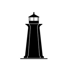 lighthouse tower building vector image