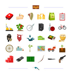 Medicine weapons sports and other web icon in vector
