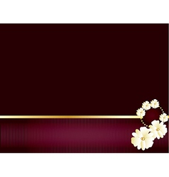 Purple and gold elegant background 2 vector
