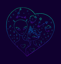 festive background for valentine s day vector image