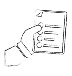 Paper document icon image vector