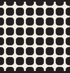 monochrome seamless geometric pattern vector image vector image