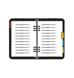 Adress business book vector